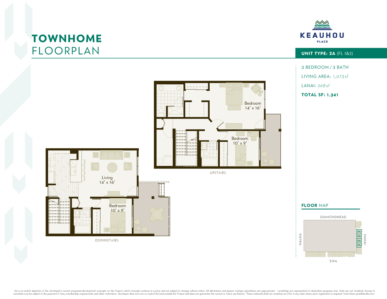 Keauhou project floor plans for 15 dunham place floor plans