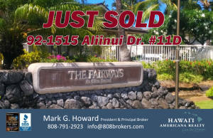 JUSTSOLD Faiways