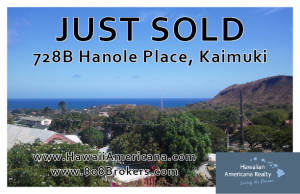 JUSTSOLD Hanole