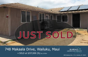 JUST SOLD 748Makaala
