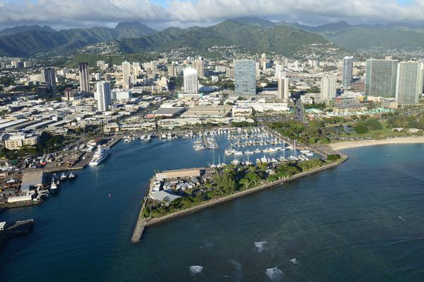 The Howard Hughes Corp. will take over operations and management of Kewalo Basin Harbor, between Downtown Honolulu and Waikiki, for up to 45 years under a lease approved Friday by the Hawaii Community Development Authority.