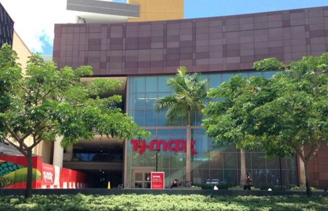 811d38747c The Howard Hughes Corp. has begun work on a space below T.J. Maxx at Ward  Village in Honolulu for planned retail tenants